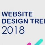 website design trends 2018