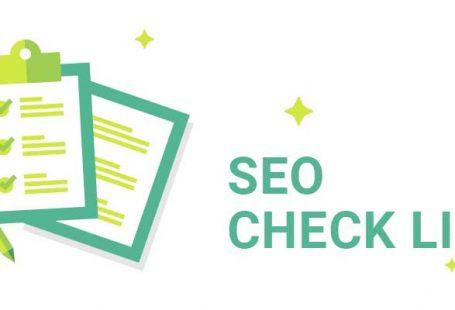 blog seo checklist image